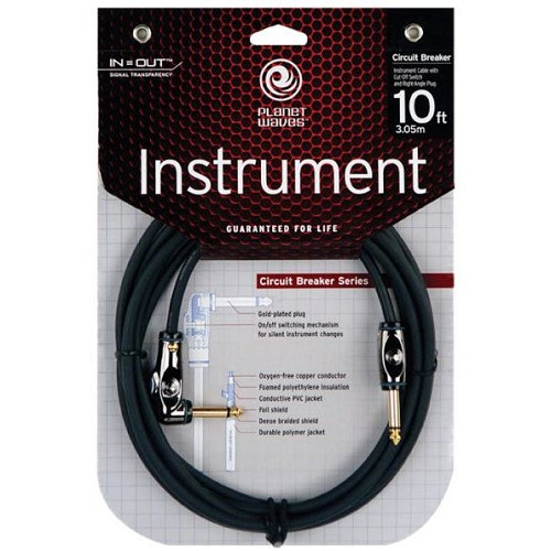 PLANET WAVES Instrument Cable Circuit Breaker [PW-AGRA-10] - Instrument Cable